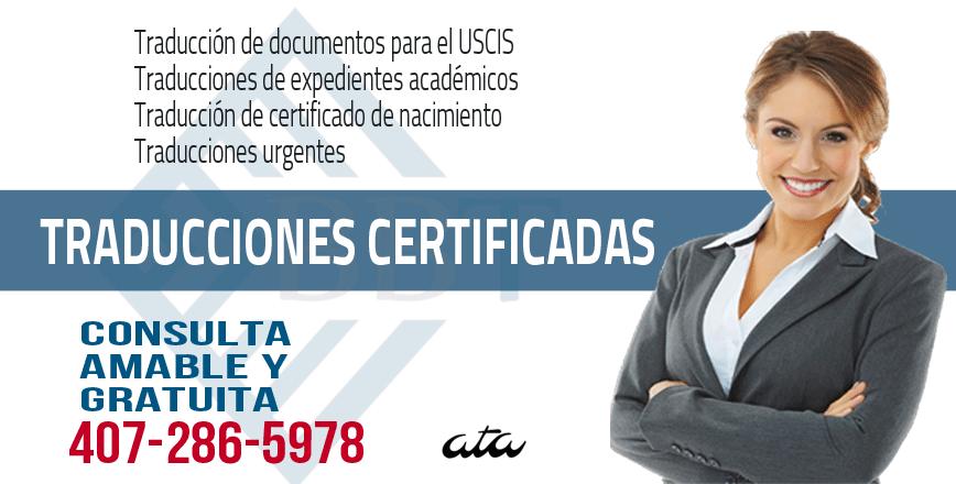 Traducciones Certificadas, Traducciones Urgentes | Spanish English ...